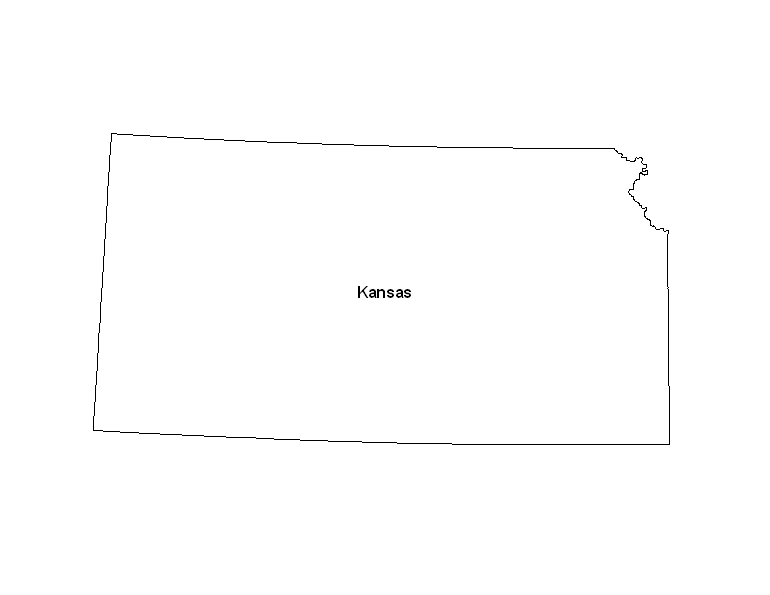 Printable Calendar Ks : Printable map of the state kansas eprintablecalendars