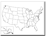Printable Maps of the USA