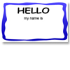 Printable Name Tag (Kids Version 1)