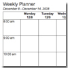 Printable Weekly Planner for This Week